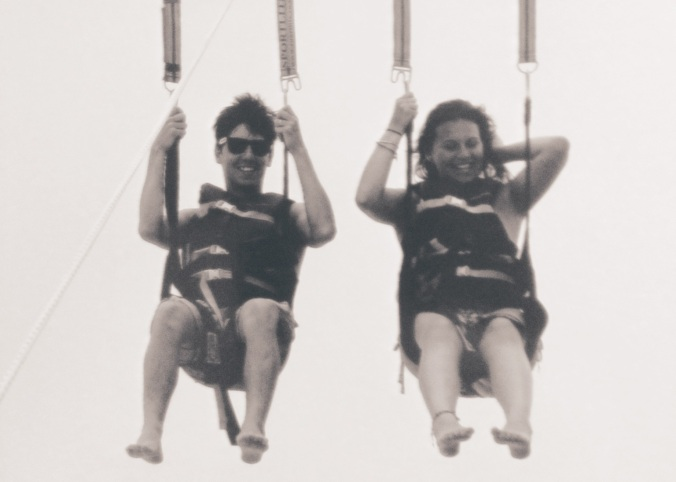 parasailing for the first time